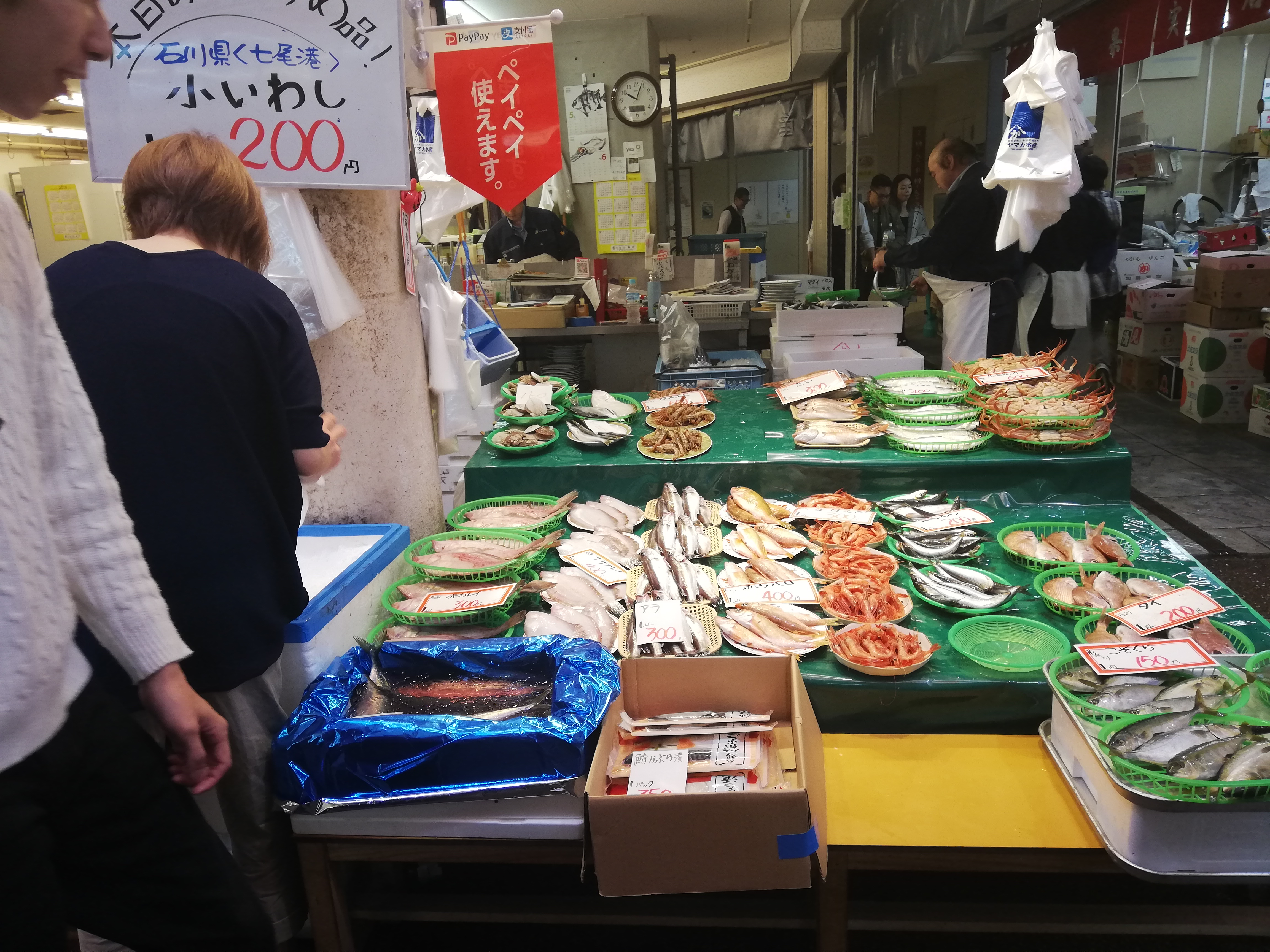 近江町市場写真2