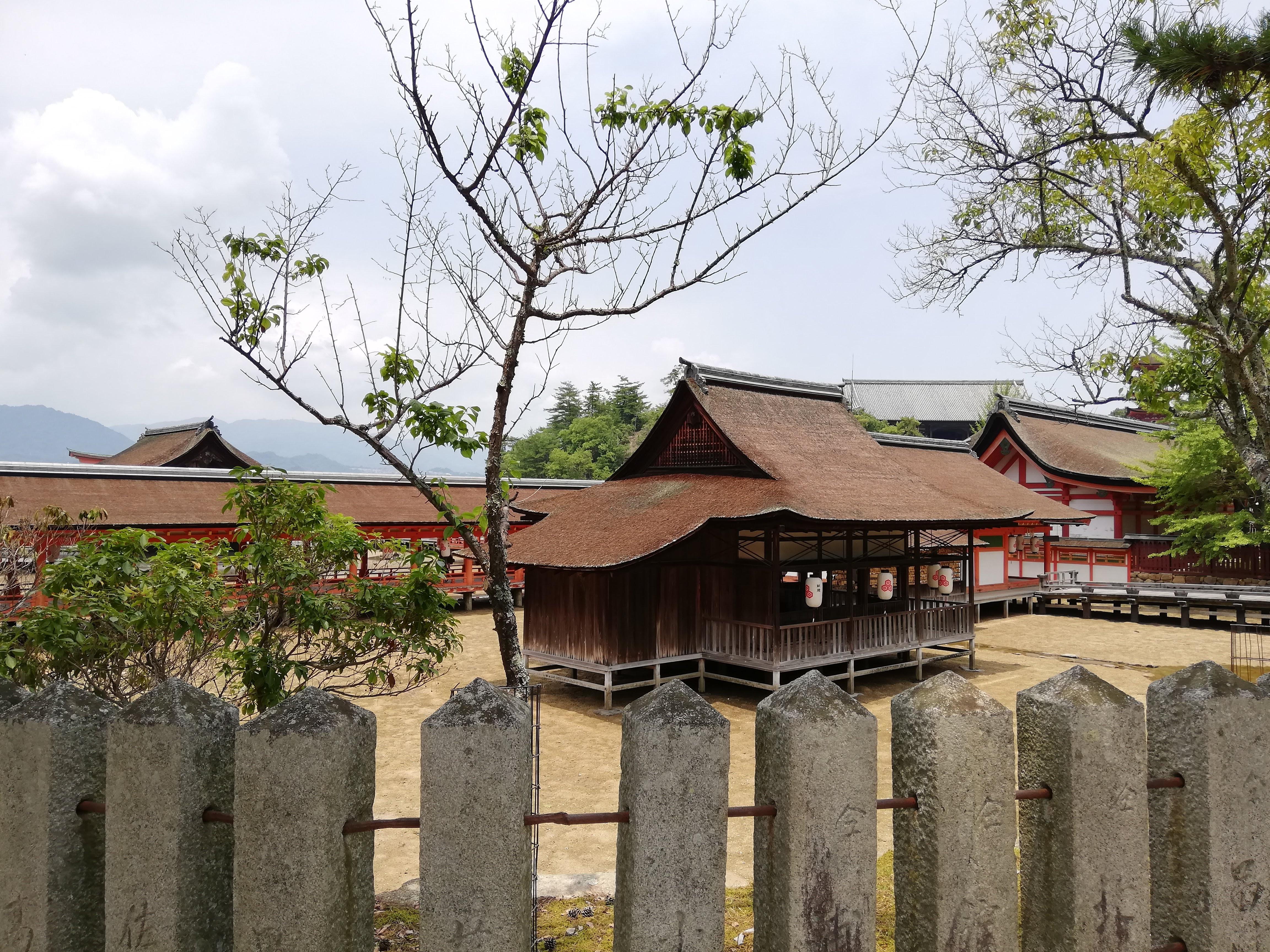 宮島の風景写真