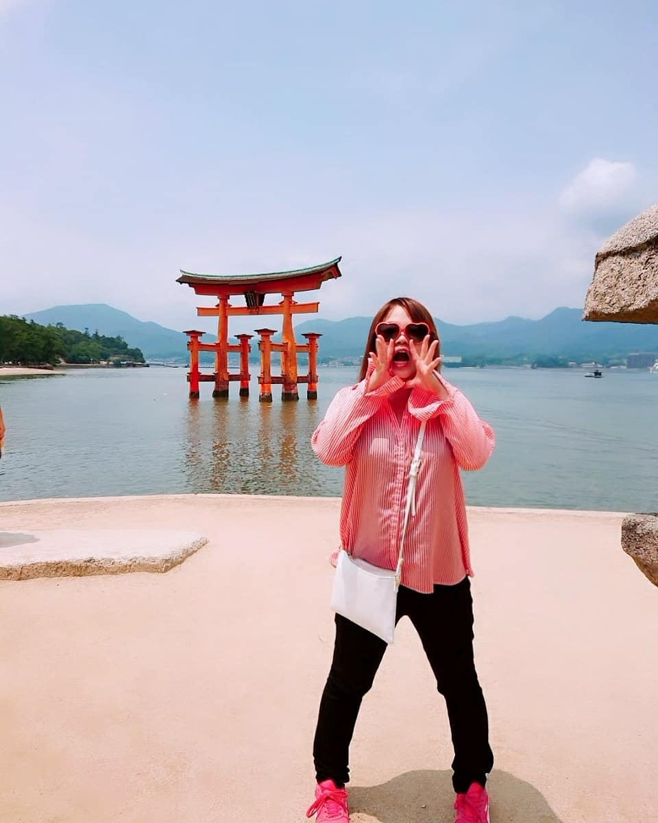 広島旅行の写真