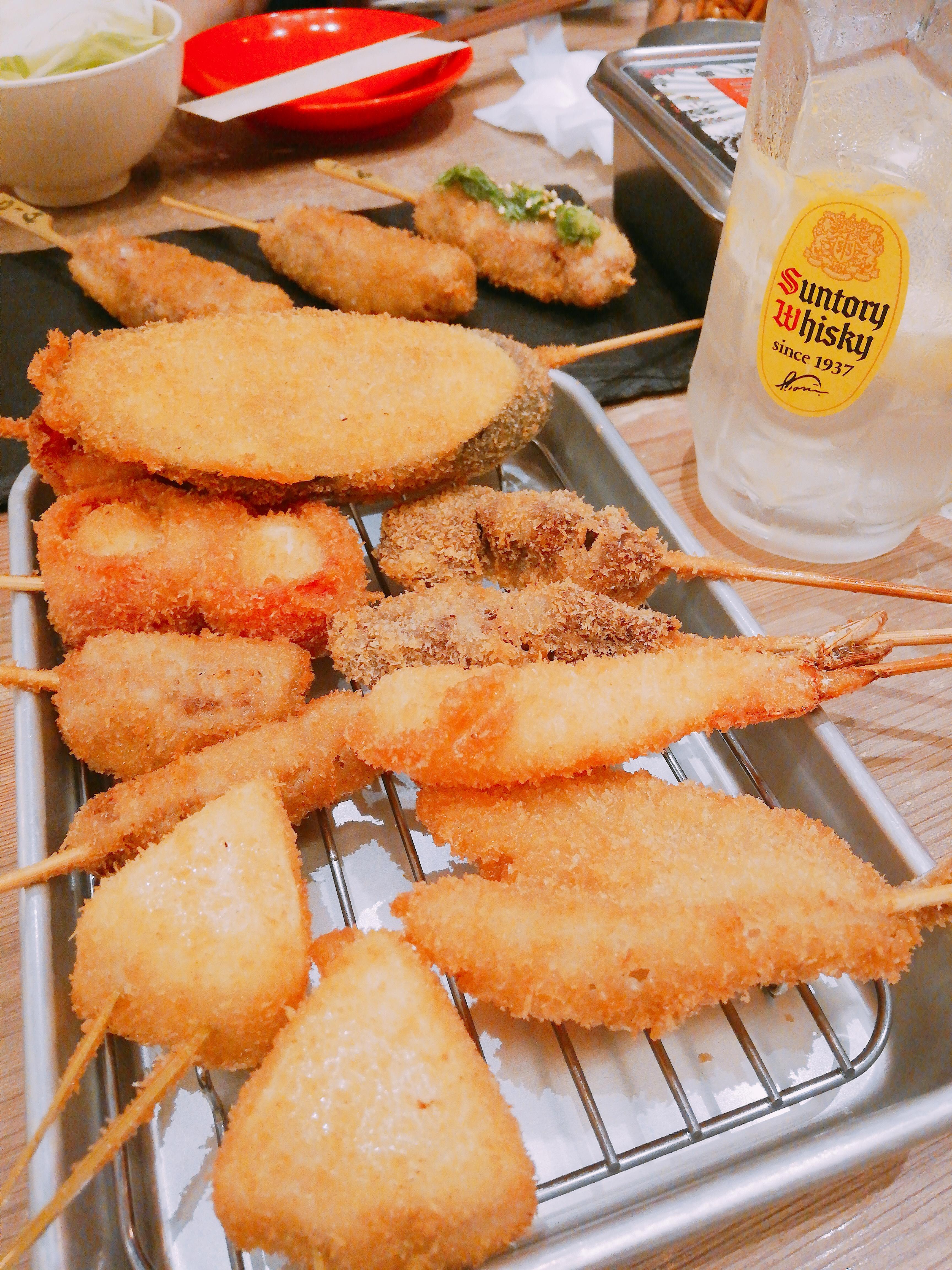 大阪の串カツ